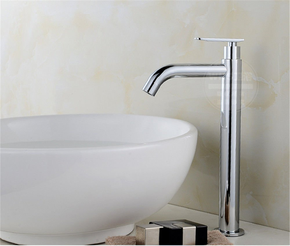 Hlluya Professional Sink Mixer Tap Kitchen Faucet One cold water tap balcony washing basin faucet single cold basin basin single cold tap.