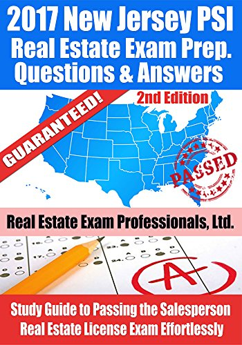 2017 new jersey psi real estate exam prep questions and answers 2017 new jersey psi real estate exam prep questions and answers study guide to passing fandeluxe Image collections