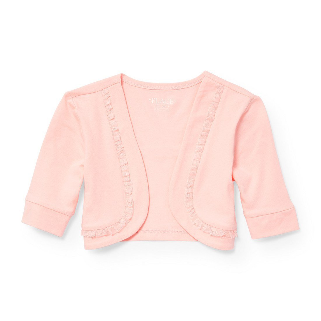 The Children's Place Big Girls' Knit Shrug, Sweet Nothing 5491, M (7/8)