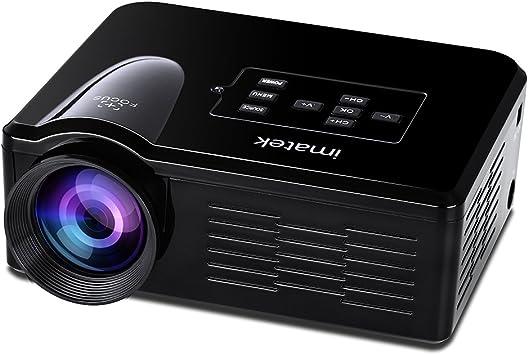 Videoproyector, IMATEK PJ-B350 Blanca Multi-función LCD proyector ...