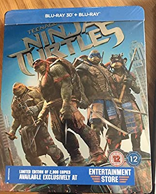 Zelvy Ninja 2bd 3d+2d Steelbook Teenage Mutant Ninja Turtles ...