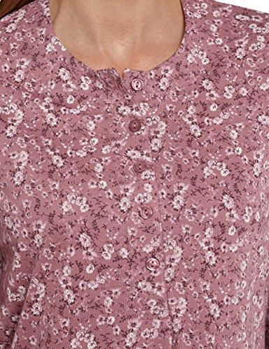 Schiesser 158725, Camisón para Mujer Rot (Malve 525)