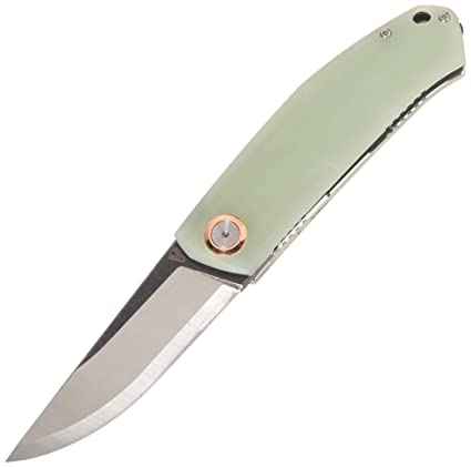 Amazon.com: vouking cuchillos g0203 Jade G10 plegable ...