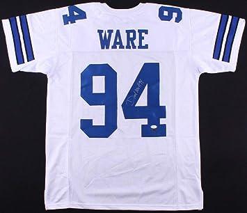 wholesale dealer d0dae b1291 Demarcus Ware Autographed Signed Cowboys Jersey - JSA ...