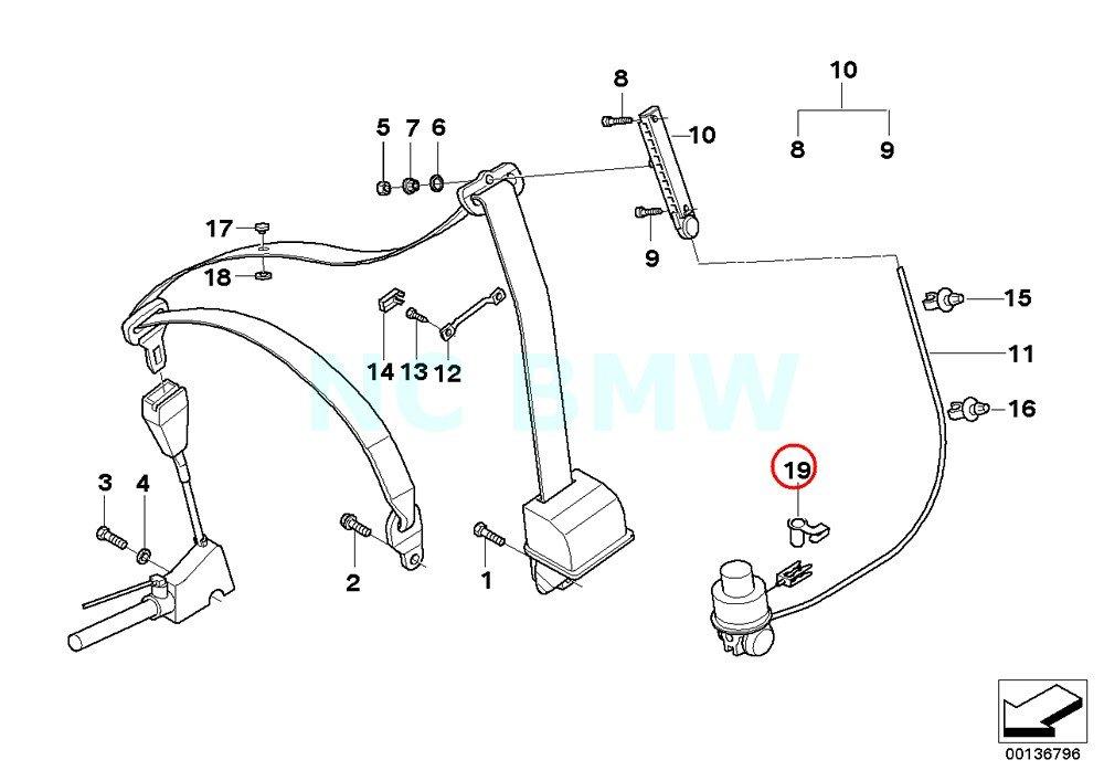 Amazon Com Bmw Genuine Secuirng Pin Automotive