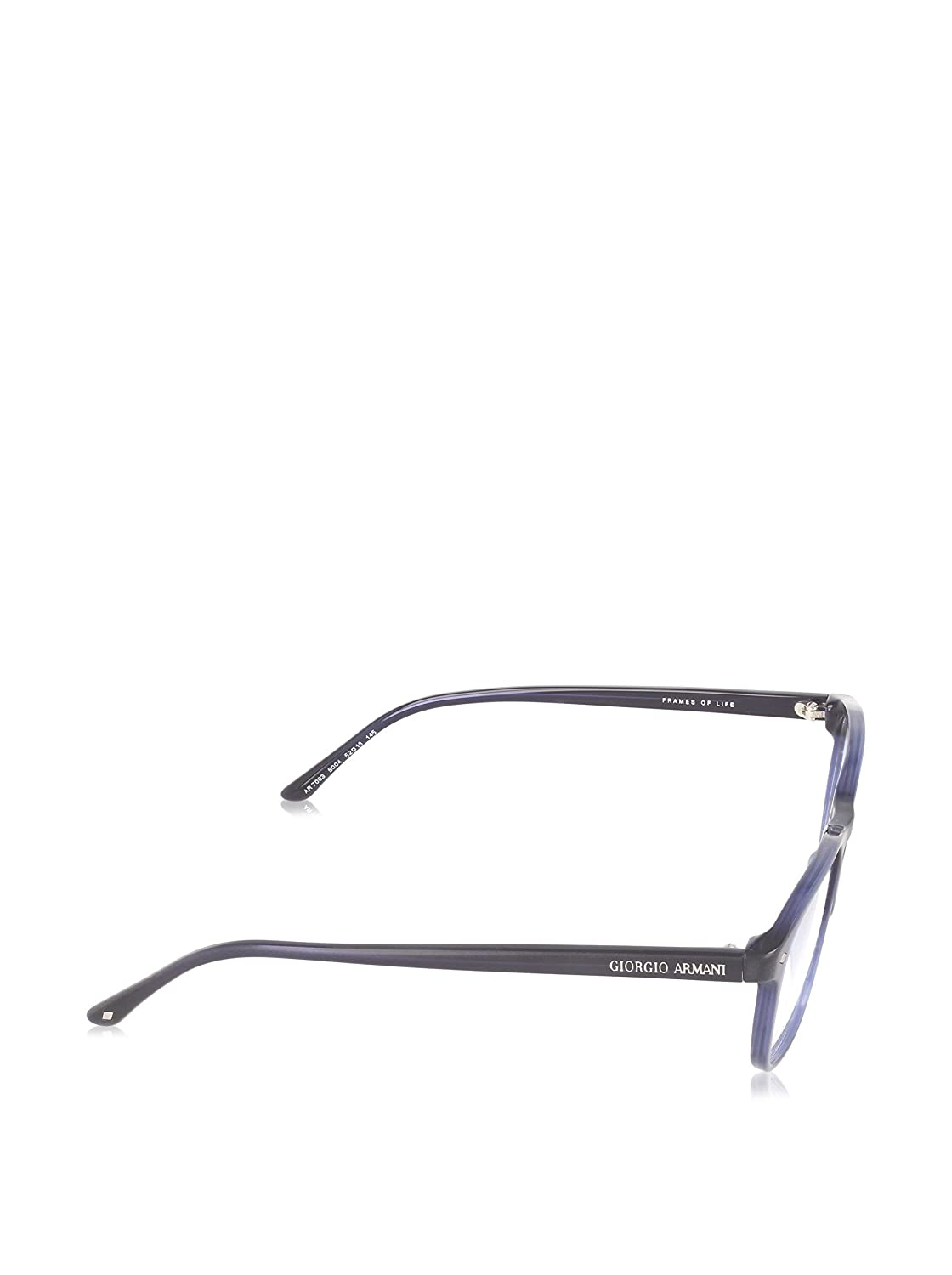 9c690d495af GIORGIO ARMANI Eyeglasses AR 7003 5004 Matte Blue Transparent 52MM at  Amazon Men s Clothing store  Prescription Eyewear Frames