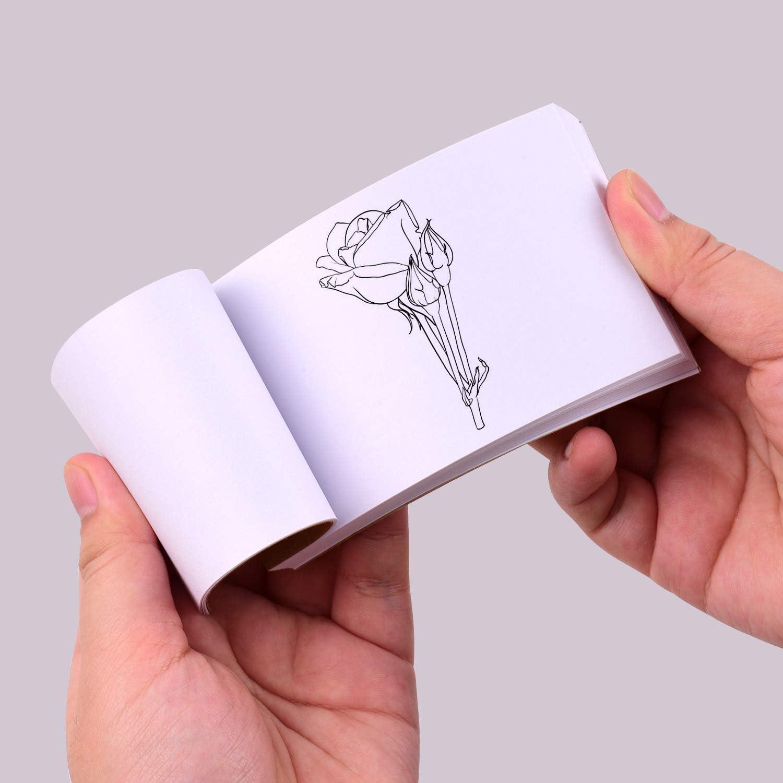 Aibecy Flipbook Kit mit Light Pad Tablet LED Leuchttisch 3-stufige Helligkeitsregelung 300 Blatt Flipbook-Papier mit Bindeschrauben zum Nachzeichnen und Zeichnen