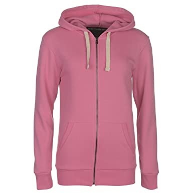 0e10176e36a3 Jilted Generation Full Zip Hoody Mens Pink Hoodie Hooded Jacket Sweatshirt  Top  Amazon.co.uk  Clothing