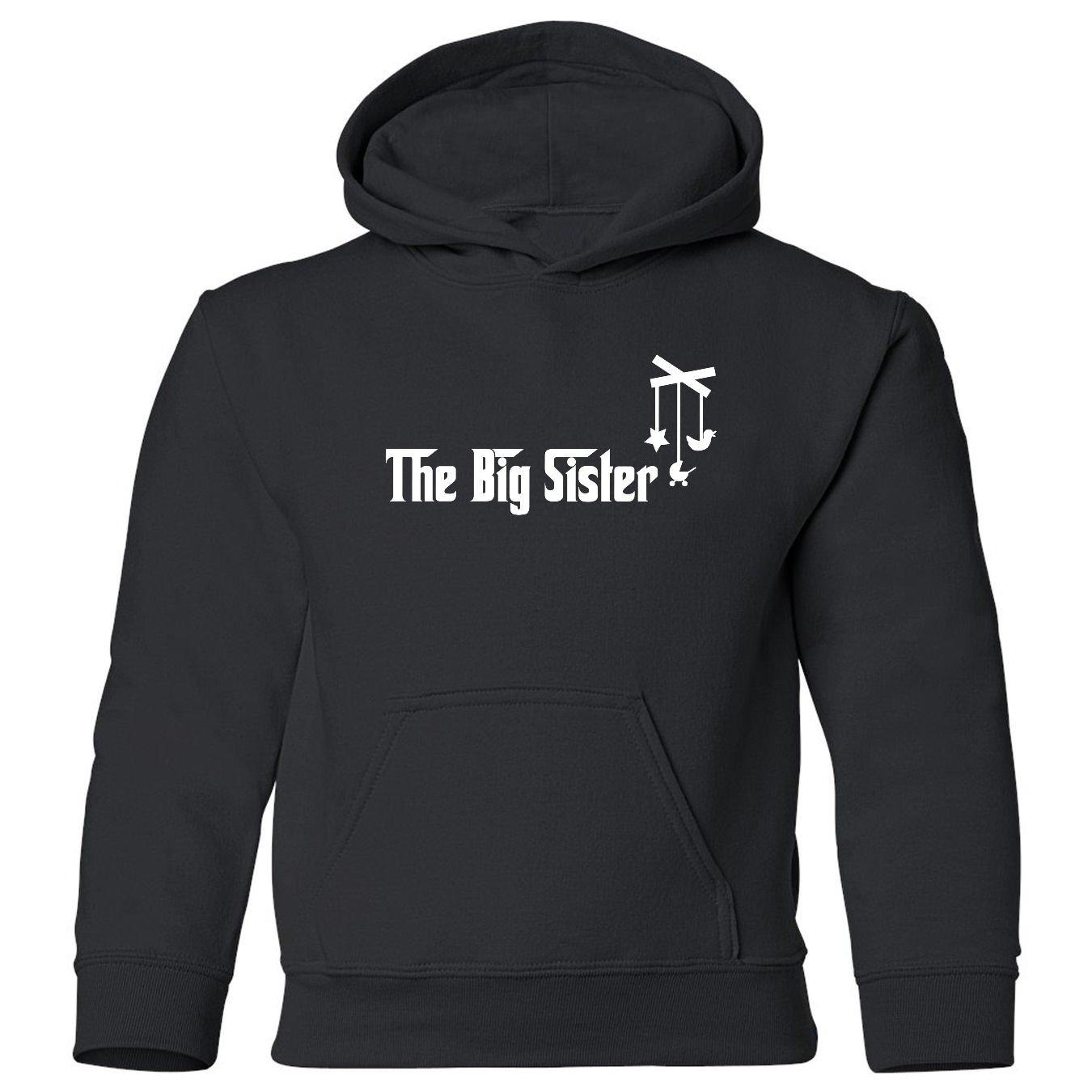 The Big Sister Toddler Hooded Sweatshirt So Relative