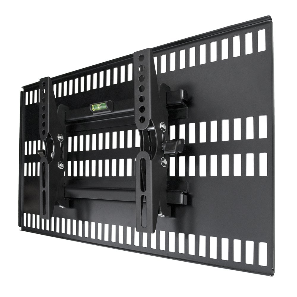 テレビ壁掛け金具 ホッチキス止め TVセッター壁美人 TI100 Sサイズ ブラック TVSKBTI100SB B00A1ZFKMC ブラック
