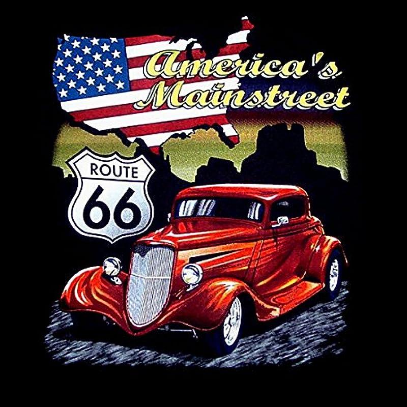 Schwarze ärmellos T-Shirt Tank Top Hot Rod Route 66 Speed Lowrider Auto Vintage Car Kustom Shop -2167: Odzież