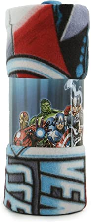 Plaid Avengers Assemble Marvel in pile 120x150 cm N671
