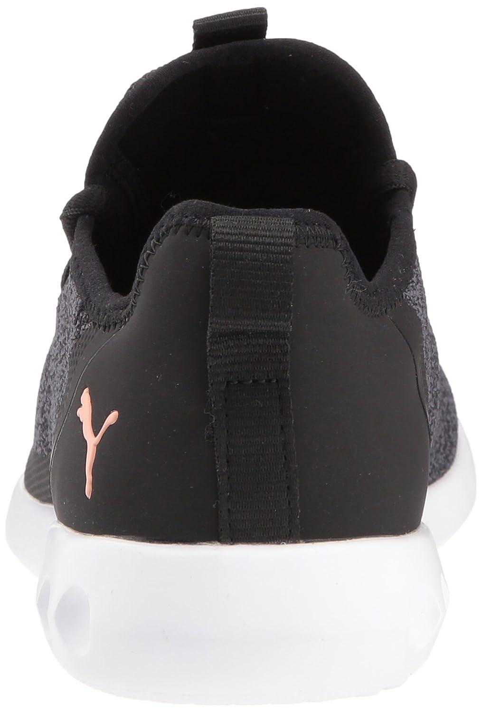 PUMA Women's Carson 2 X Knit Wn Sneaker B072KCSHF1 5.5 B(M) US|Puma Black-periscope