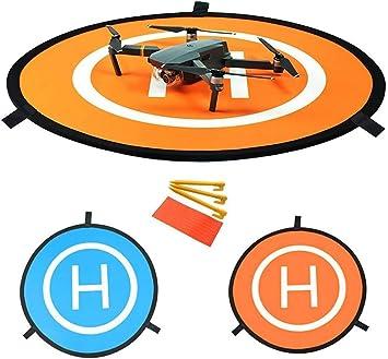 Opinión sobre YUNIQUE ESPANA- Pista de Aterrizaje Portátil Universal para Aviones no Tripulados RC Helicóptero dji Mavic, Pro Phantom 2/3/4/4, Inspire 2/1, 3DR Solo, GoPro Karma (9Z-3ZUE-AV67)