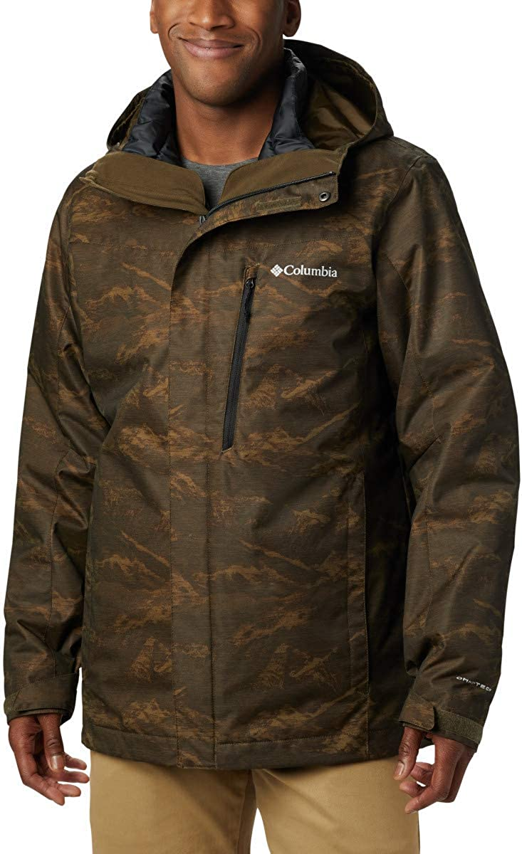 Columbia Mens Extended Whirlibird Iv Interchange Jacket