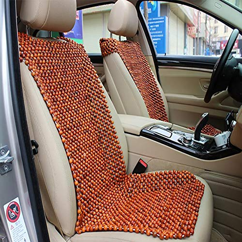 Summer hot Supplies Massage Wooden Beads Car Seat Cushion,Shoulder-Mounted Rosewood Cushion,for 1-seat Car Front Seat Cover Cushion