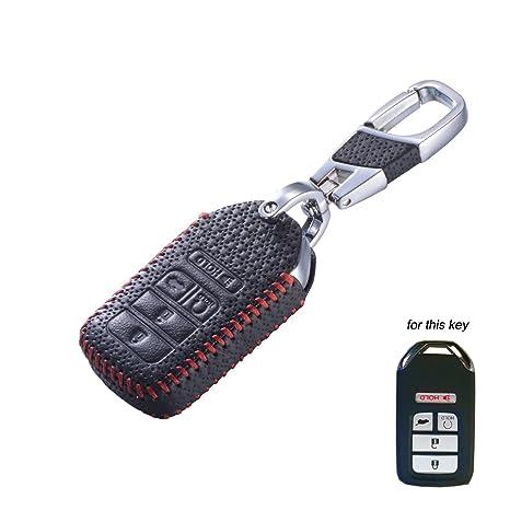 Amazon.com: DKMUS - Funda de piel para llave compatible con ...