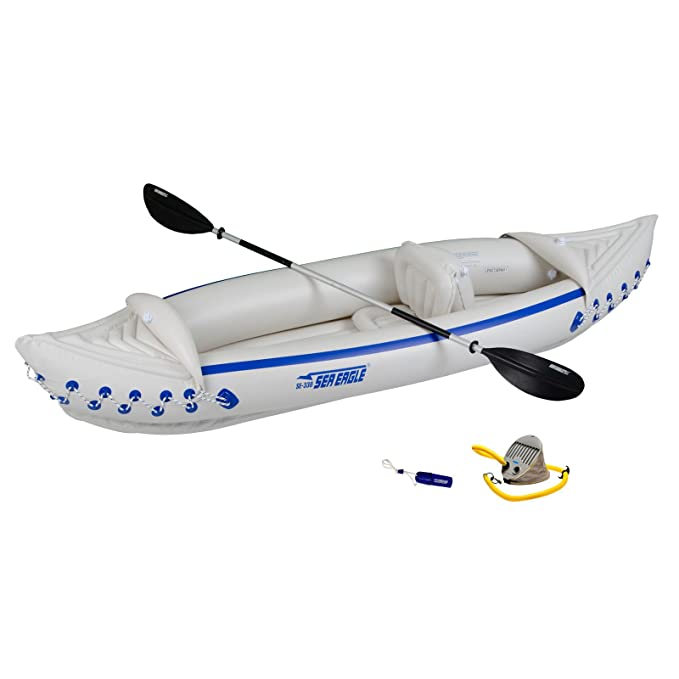 Mar Eagle 330 inflatebale Kayak Kayak inflable de solo ...