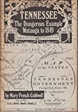 img - for Tennessee: the dangerous example; Watauga to 1849 book / textbook / text book