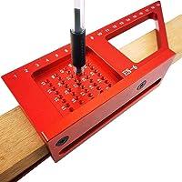 CDIYTOOL Houtbewerking Scriber, 45/90 °3D verstekhoek liniaal, multifunctionele houtbewerking maatregel Stencil…