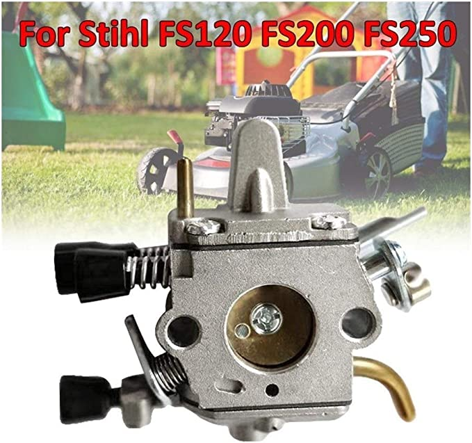 Fait Adolph Filtro de Aire 1PCS Metal carburador Astilla del carburador Kit carburador for Stihl FS120 FS200 FS250 Trimmer Weedeater desbrozadora para Accesorios de cortacésped (Color : Carburetor)