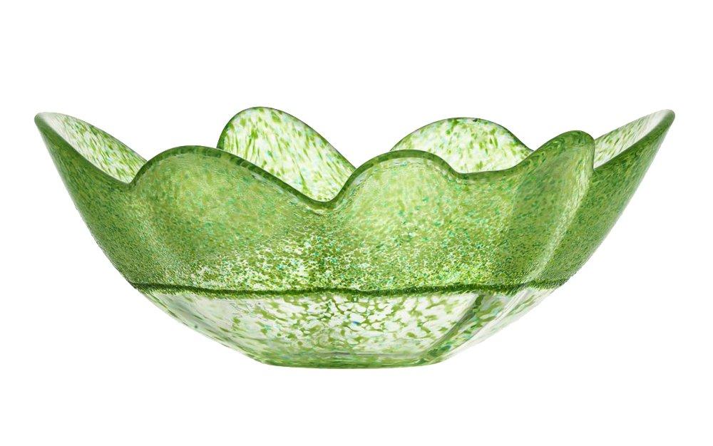 Kosta Boda Organix Bowl, Spring Green, Large