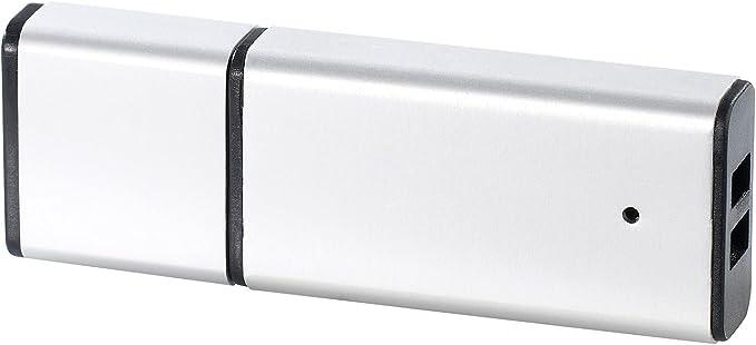 LEORX 2-in-1 8 GB USB-Flash-Laufwerk Digital HD USB Audio Voice-Recorder Matt schwarz