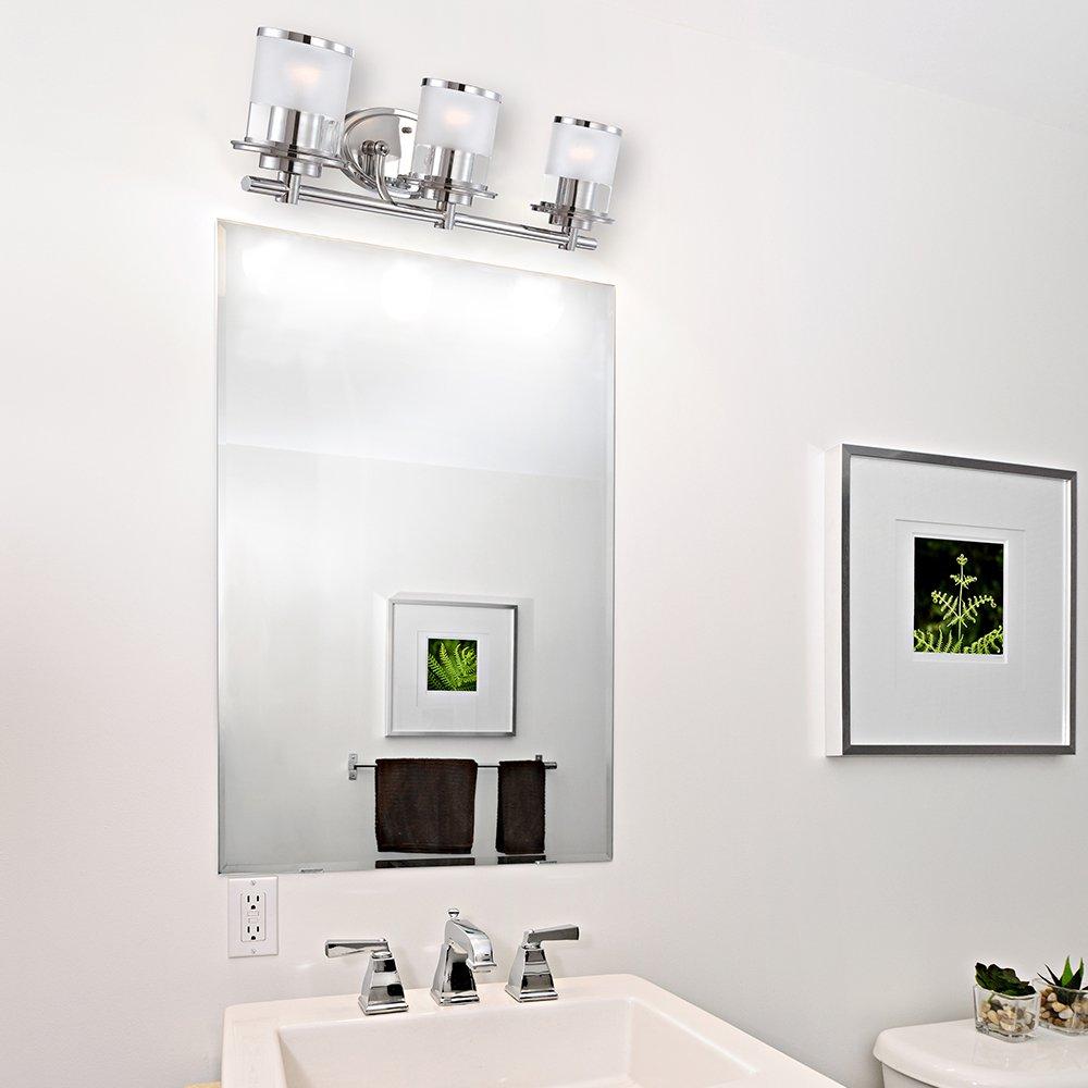 Chrome Designers Fountain 6693-CH Essence 3 Light Bath Bar