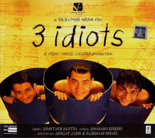 3 Idiots (Cd) (Indian Music / Bollywood Music / Hindi Film Music) (Film Idiots)