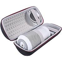 Travel Carrying Protective Carry Cover Case Bag for Bose Soundlink Revolve Bluetooth Speaker (Black+Gray)