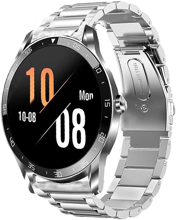 Lvbu Armband Kompatibel Mit Blackview X1 Classic Edelstahl Uhrenarmband Für Blackview X1 Smartwatch Silber Uhren