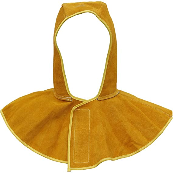 Jili Online Cowhide Leather Welding Coat Fire Resistant Protective Clothing Kit Orange - - Amazon.com