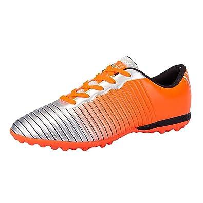 920bd2f59e7141 Juleya Kinder Fußball Schuhe Männer Indoor Outdoor Leichte Atmungsaktive  Fußballschuhe Athletic Turf Running Sport Anti-