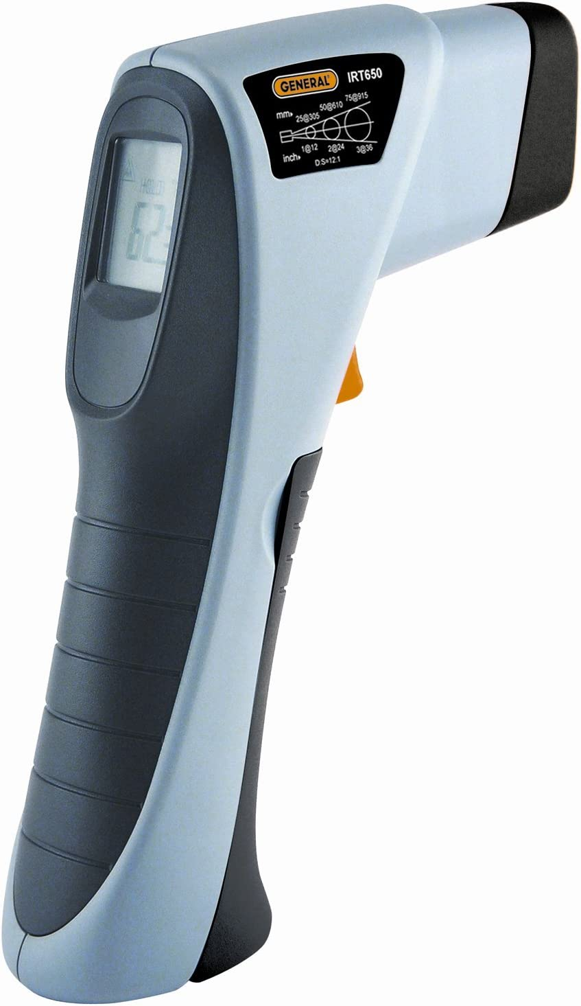 General Tools & Instruments IRT650 Infrared Thermometer, Wide-Range, 12:1