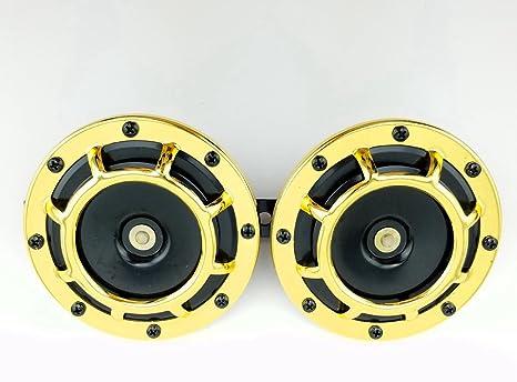 Amazon.com: 2 piezas, 12V 110 DB, bocinas super potentes ...