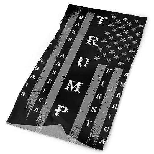 f3ab905337c48 Trump MAGA USA Flag Tube Bandanas Headwear Headband Magic Scarf Face Mask  Neck Gaiter