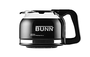 BUNN Pour-O-Matic 10-Cup Drip Free Carafe, Black