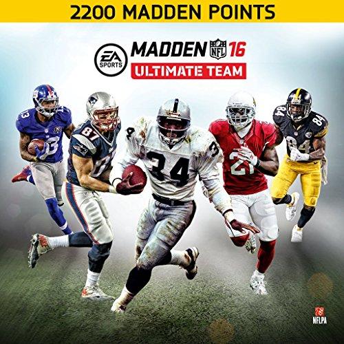 Madden NFL 16: 2200 Points - PS4 [Digital Code]