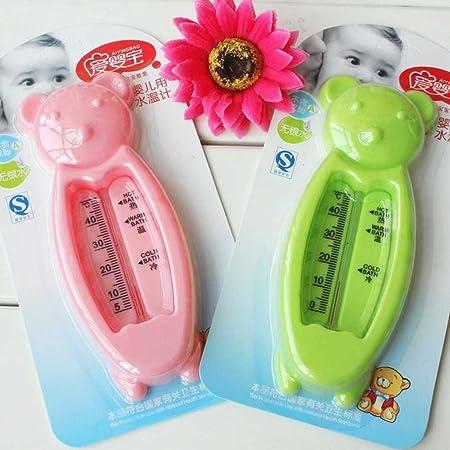Vkospy Termómetro de baño para los recién Nacidos el pequeño Oso de Agua Medidor de Temperatura del baño