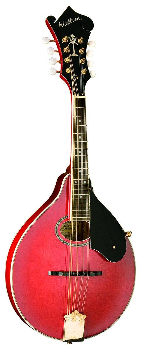 Washburn  M1SDLTR A-Style Mandolin (Red)
