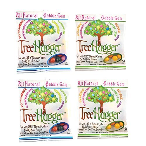 (Tree Hugger Bubble Gum - Variety Pack - 2 Oz (4 bags))