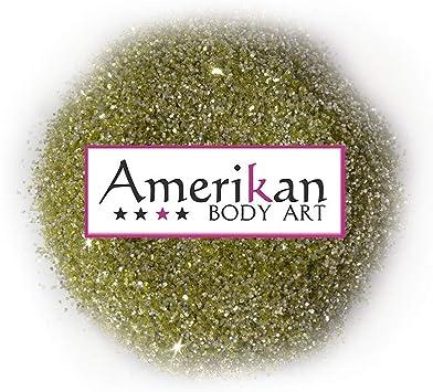 Amerikan Body Art biodegradable Glitter - Oro Pulido (.008
