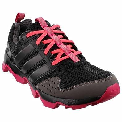 adidas Women's GSG9 Trail Running Shoe,Black/Night Metallic/Bold Pink,US