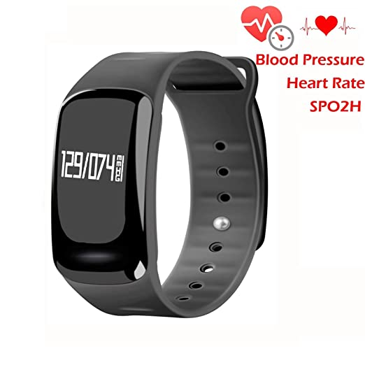 Amazon.com: Blood Pressure Bracelet Fitness Tracker ...