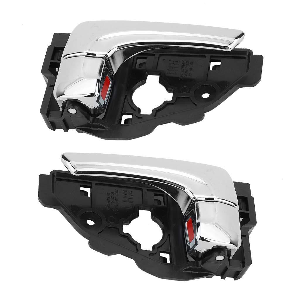 Maniglie Interne per Portiere 82620-2S010 82610-2S010 Placca Colore Luminoso Interno Sinistro Maniglia per Porta adatta per ix35