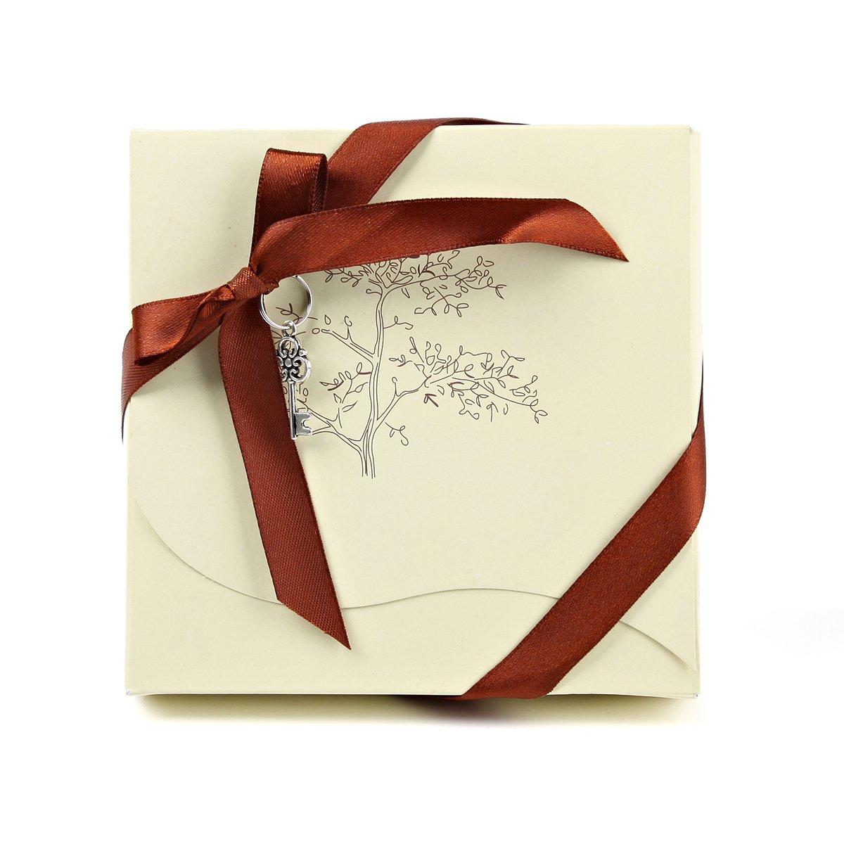 las parejas de la novedad en caja de regalo de boda par abridor de botella recuerdo boda Rectangular oneplace Regalos Exclusivos Paquete de 10/unidades abrebotellas con im/án para nevera