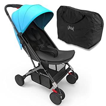 Jovial Portable Folding Baby Stroller Blue
