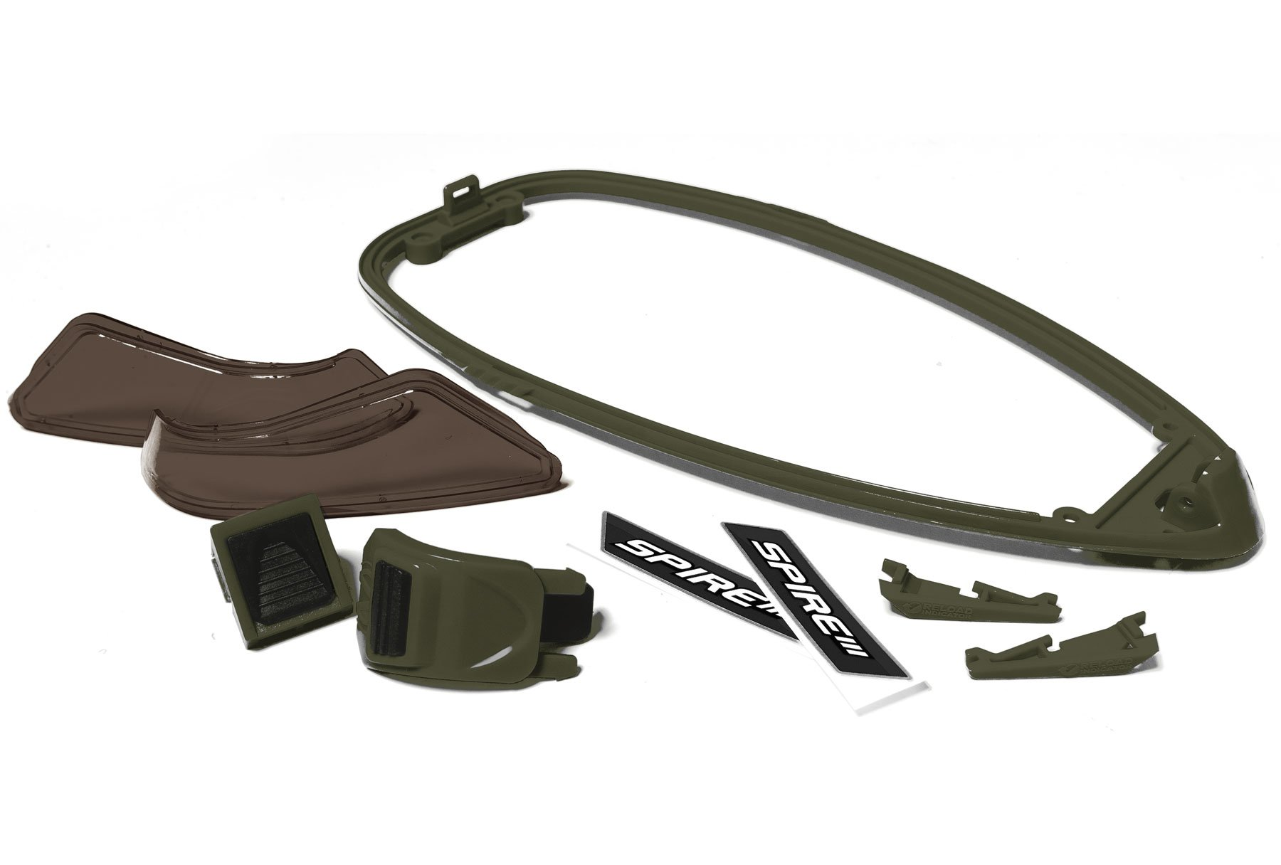 Virtue Paintball Virtue Spire III Color Kit, Olive (2229) by Virtue Paintball