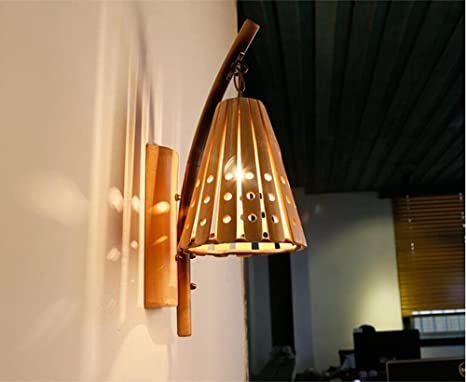 Mulang americano rustico ecologia bambù creativo vuoti semplice