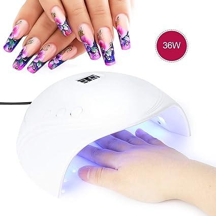 Secador Lámpara Uñas Profesional UñasMini De EHDI29